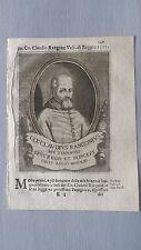 1669 Ritratto Claudio Rangoni (Modena 1559-Reggio nell'Emilia 1621) Vescovo