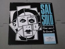 """Sal Solo:   How Was I To Know?  UK  PROMO  7""""   NM"""