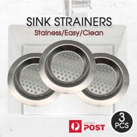 SINK STRAINERS Kitchen Waste Plug Drain Filter Basket Drainer AU Stock