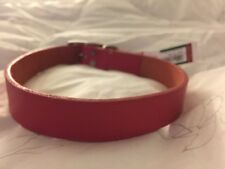 New Coastal Pet Products Premium Pink Leather Dog Collar 22