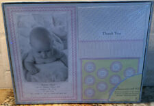 New Sealed 50 Count Create Your Own Baby Girl Birth Announcements Kit Pink Print