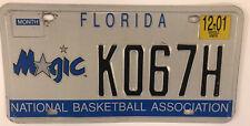 ORLANDO MAGIC NBA CHAMPS license plate National Basketball Amway Center Disney