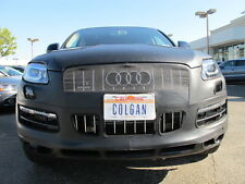 Colgan Front End Mask Bra 2pc. Fits Audi Q7 2011-14 W/License Plate,With Washer