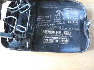 96-02 Mercedes W210 E320 E430 Black Fuel Gas Tank Lid Door 1405840939