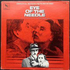 Varese import! Miklos Rozsa EYE OF THE NEEDLE soundtrack LP 81 Donald Sutherland