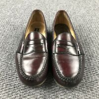 COLE HAAN Mens Dress Shoes Brown Leather Slip On Penny Loafer Sz Size 9.5 D