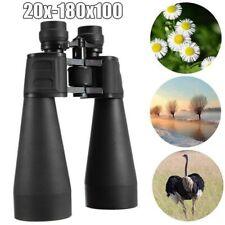 Night Vision 20x100 Zoom Binoculars HD Telescope Wide Angle Binocular Eyepiece
