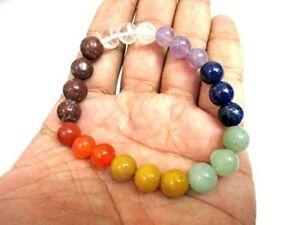 Jet Chakra stretch Bracelet Negative Ions Provider CHAKRA stretch Balancing