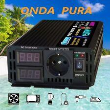 1500W 3000W 12V a 220V Inversor Onda Pura Inverter / elbox99