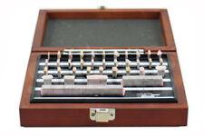 SHARS RECTANGULAR GAGE BLOCK SET 36 PC GRADE B GAGES BLOCKS W/ USA NIST CERT NEW