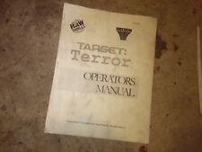 target terror arcade manual #890