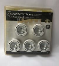 Hampton Bay 120V Halogen Accent Lights Model 148 120 Set Of 5  A5