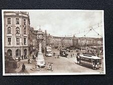 Photochrom Postcard Douglas I.O.M. , Jubilee Clock 80168 - PCBOX1