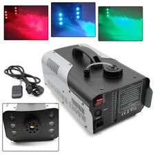 Party Light RGB 6-LED FM-1200LED 1200W Fumée Brouillard Machine Inc à distance