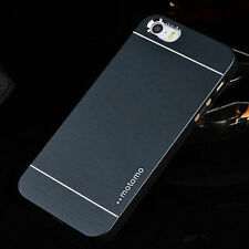 Metal Aluminum PC Brushed Hard Back Cover Case Skin For iPhone 4 5 5S 6 6 Plus