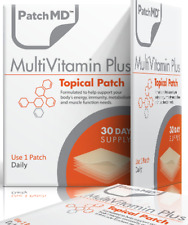 PatchMD Multivitamin Plus Topical Vitamin Patch 30 Day Supply  Patch-MD 2021 Ex.