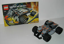 8137 LEGO Racers Booster Beast – 100% Complete w Instructions EX COND 2007