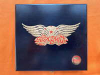 Aerosmith - Pandora's Box - Ltd Edt 2 x CD wooden box set with extras read desc.
