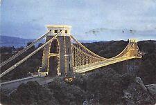 B102948 the clifton suspension bridge by night    uk