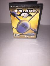 X-Plane v 9.0 - PC Game Missing Disc 1 No Manual