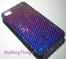 MERIDIAN BLUE Crystal Back Case for Samsung Galaxy S4 IV with Swarovski Elements