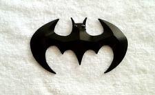 3D Batman Chrome Badge Decal Sticker For Car Bike - Black