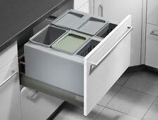 HAILO XXXL 600 Inset Kitchen Recycling Waste Separation System Bin 2 x 30L