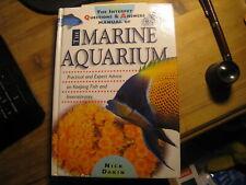LOVELY  HARDBACK BOOK MARINE AQUARIUM  BY NICK DAKIN VGC