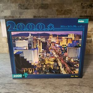 Buffalo Games 2000 Piece Collection Jigsaw Puzzle Vegas Baby