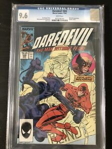 Daredevil #248 CGC 9.6 White Pages (1987)