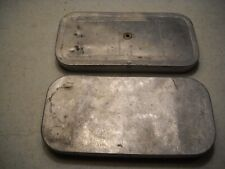 Two Vintage Aluminum Fly Cases