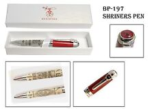 Beautiful Shriner's Ball Point Pen with Gift Box (BP-197)