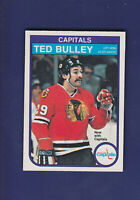 Ted Bulley 1982-83 O-PEE-CHEE OPC Hockey #360 (NM+) Washington Capitals