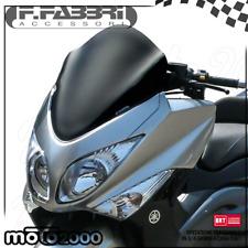 CUPOLINO SPOILER FABBRI NERO OPACO SATINATO YAMAHA T-MAX TMAX 500 2008 2011