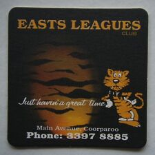 EASTS LEAGUES CLUB MAIN AVE COORPAROO 33978885 COASTER