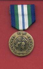 UN United Nations Award medal for Haiti MINUSTAH