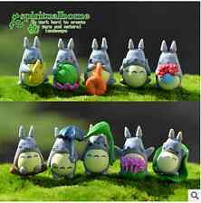 10pcs Totoro  Figurine Craft Plant Pot Fairy Garden Decor Garden Ornament DIY
