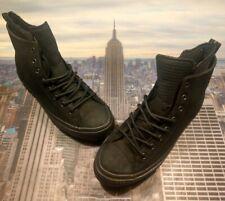 Converse Chuck Taylor All Star WP Boot Hi High Top Triple Black Size 9.5 162409c