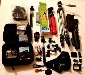 Action cam,Rollei 425 + Zubehor paket, Bitte siehe fotos.