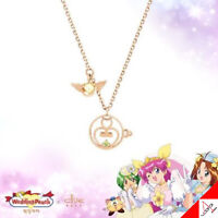 Clue X Wedding Peach St. Something For Daisy Silver Necklace Jewelry Authentic
