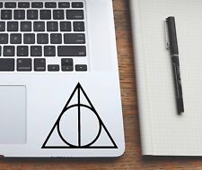 Wall Stickers custom Harry potter decal deathly hallows for laptop car macbook
