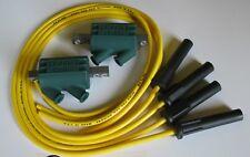 Suzuki GSXR400 Dyna Leistung Zündspulen & Schneider Kabel. Gelb