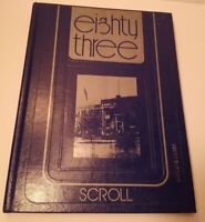 1983 BROOKVILLE HIGH SCHOOL YEARBOOK BROOKVILLE, OHIO  SCROLL