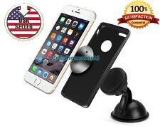 360º Magnetic Car Windshield Mount Holder With Suction Cup For Cell Phone GPS A+