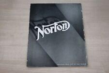 195391) Norton - Modellprogramm - Prospekt 1936