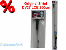 SIRTEL DV 27 LCE mit Mittelspule 200cm lang CB Funk Antenne TOP DX Legende REST