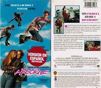 Airborne VHS Video Tape Nw Spanish Subtitled Shane McDermott Seth Green R Bowman