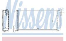 NISSENS Radiador de calefacción MERCEDES-BENZ 190 72002