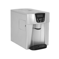 Igloo ICE227-Silver Compact Ice Maker and Water Dispenser, Silver