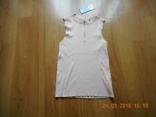 BNWT Womens Girls NEW LOOK Nude Sleeveless Top Size M 12